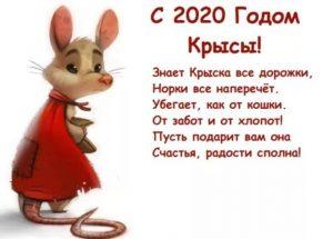 Поздравления на Новый Год 2020 (Год Крысы)