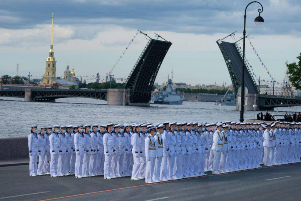 День военно-морского флота в 2022 году какого числа в России